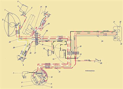 Motorrad Elektrik Schaltpl Ne by Ber 252 Hmt Farbe Des Z 252 Ndschalter Schaltplans Zeitgen 246 Ssisch