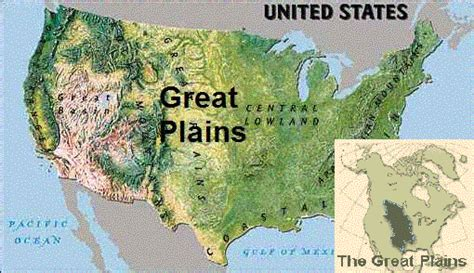 physical map of the united states great plains golden grahams social studies physical features of the