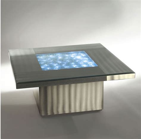 Modern Illuminated Coffee Table Neo Contemporary Illuminated Coffee Table