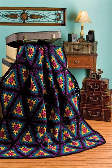 pattern for triangle afghan crochet magazine defining crochet