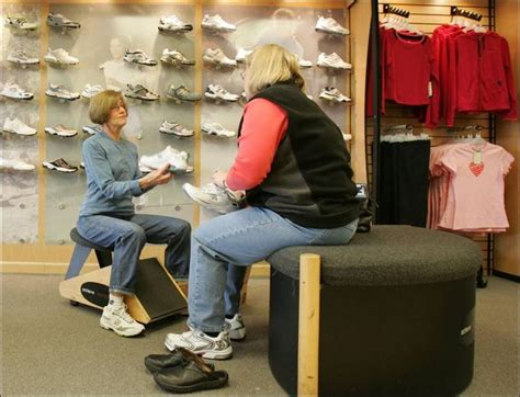 athletic shoe fitting stores athletic shoe store runs on performance toledo blade