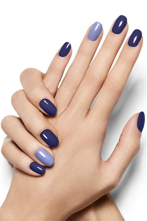 august nail color 2016 blue nail color ideas for holidays