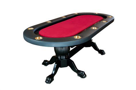 elite texas holdem poker table  wood legs