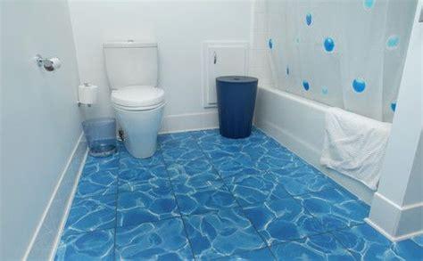 blue ocean bathrooms tile that looks like ocean waves recycled water blue
