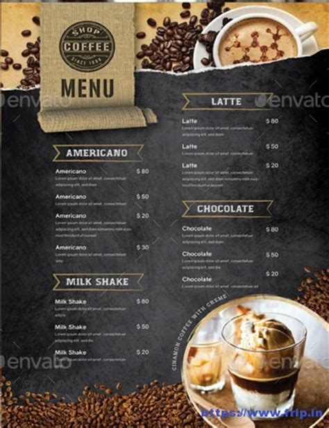 50 Best Coffee Shop Flyer Print Templates 2019 Frip In Coffee Shop Template