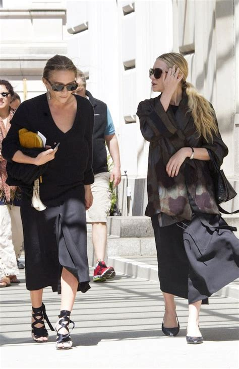 Olsens Are In Town by Kate Out In New York City Olsens Anonymous