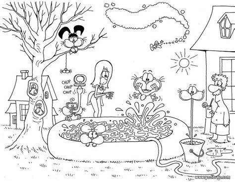 dibujos para pintar gaturro dibujos para pintar de dibujos animados taringa