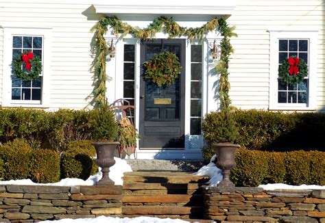 ideas for using greenhouse for outdoor christmas decorating the best greenery outdoor decorations