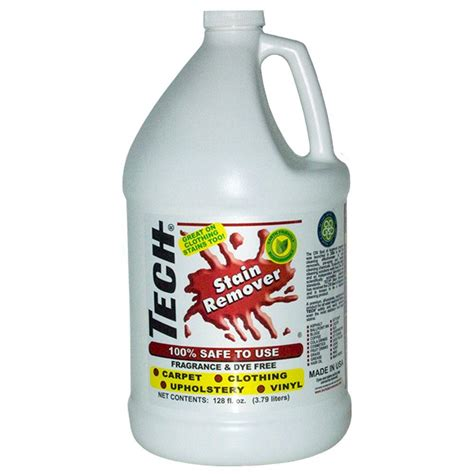 Stain Remover For Upholstery by Tech 128 Oz Stain Remover Bottle Fabric Carpet Clothing