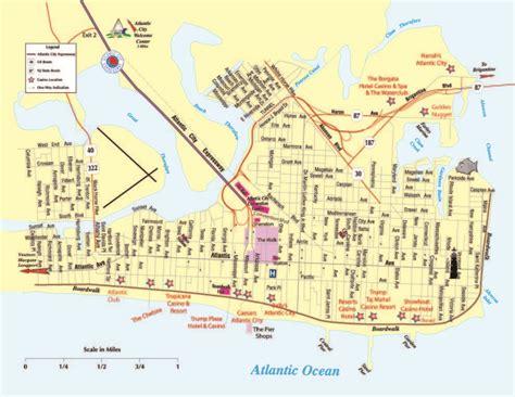 atlantic city map 26 simple atlantic city new jersey map swimnova