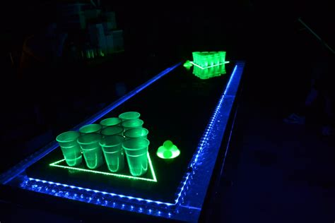 glow in the table glow in the pong table memes