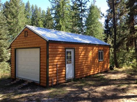 shop garage idaho wood sheds storage sheds