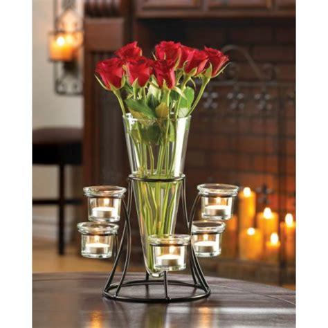 vase display candle holder stand wedding centerpiece iron