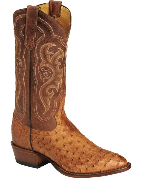 ostrich quill mens boots tony lama s vintage quill ostrich boot medium toe