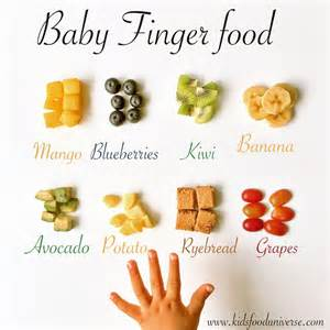for babies baby finger food chart food