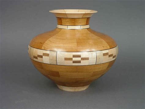 Simple Vase Segmented Work Woodspun Workshop