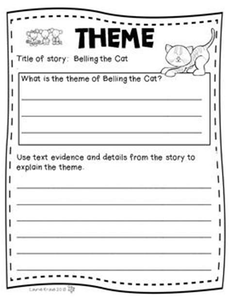 how to teach themes of a story number names worksheets 187 theme worksheets free