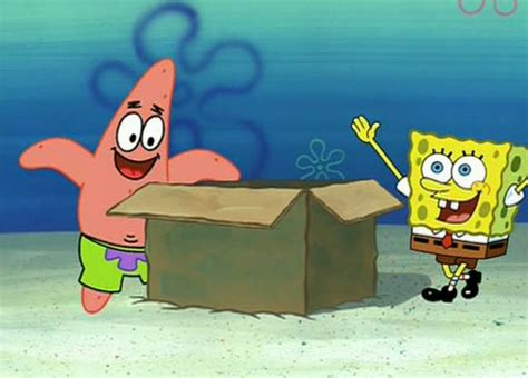 spongebob box spongebob and patrick s box dean s corner