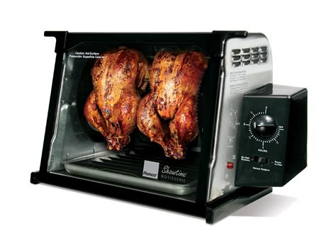 ronco rotisserie ronco 4000 series rotisserie stainless steel kitchen dining