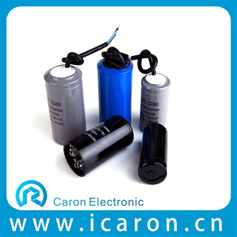 two value capacitor motor applications 250v polyester capacitor ac motor capacitors from wenling caron electronic factory