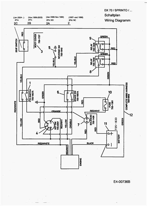 wiring diagram for mtd yard machine get free image about