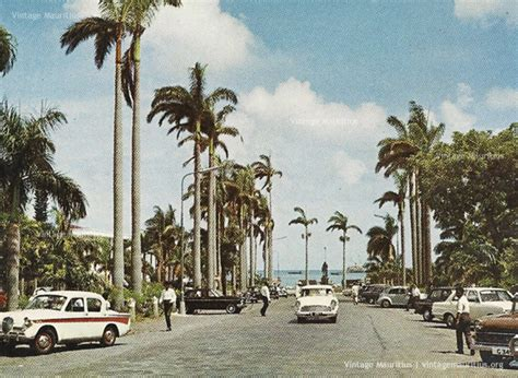 port louis place d armes the taxi stand and vintage