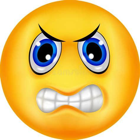 imagenes de uñas emoji download emoticon enojado ilustraci 243 n del vector imagen