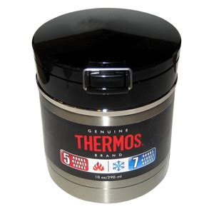 best thermos thermos black vacuum insulated flip top food jar