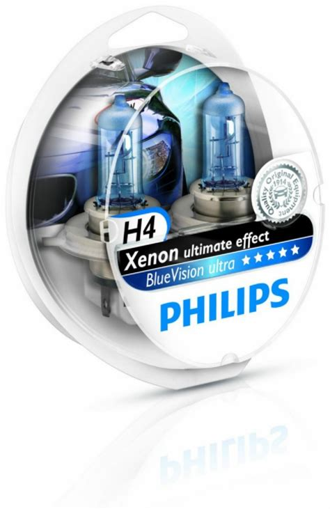 Lu Philips Blue Vision H4 philips bluevision h4 xenon