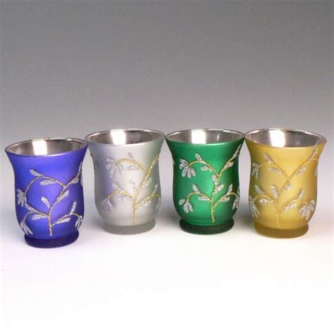 Colored Glass Candle Holders 2015 New Design Glass Colored Glass Tealight Holder Votive
