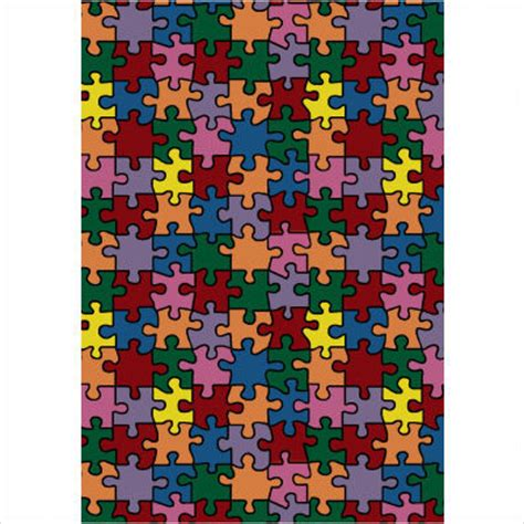 Kid Rug Kid Essentials Puzzled Jigsaw Pieces Rug Contemporary Rugs By All Modern Baby