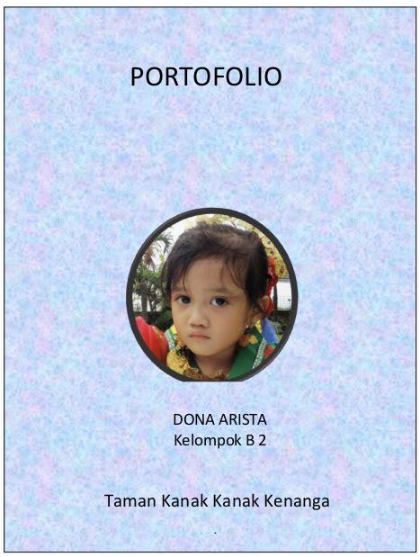 Buku Portofolio Anak contoh portofolio paud dalam penilaian evaluasi paud