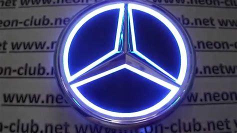 Mercedes Light Up Emblem by Cars Light Mercedes Emblem And Badge Ebay Mercedes Led Auto 12v Led Lights