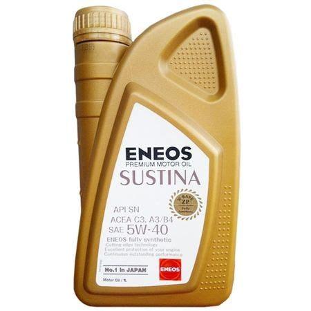Eneos Sustina 5w 30 Oli 1 Liter eneos sustina 5w 40 1 liter