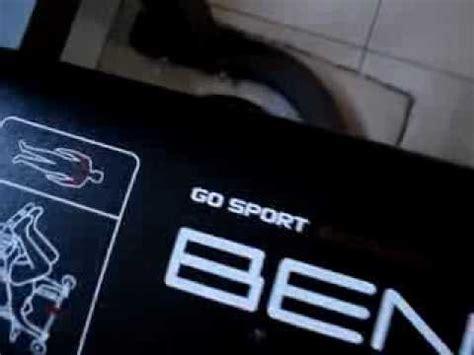 GO SPORT BANC DE MUSCULATION   YouTube