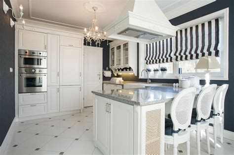 Navy And White Kitchen by Navy Blue Kitchens Abby Interior Designer