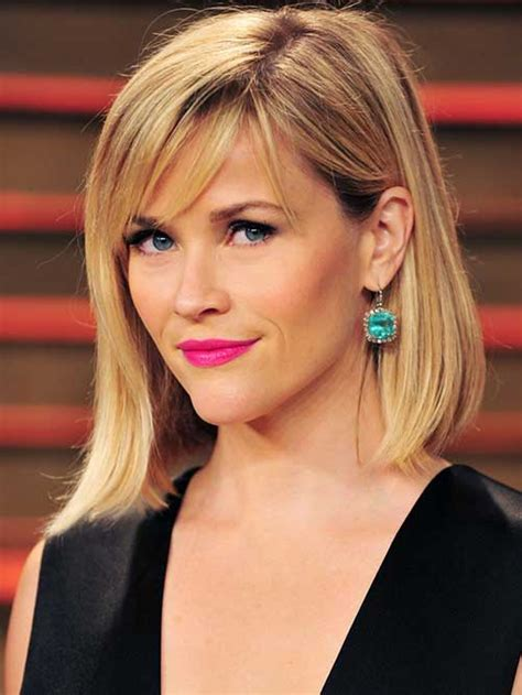 reese witherspoon angled bob 10 best bob haircuts for fine hair bob hairstyles 2017