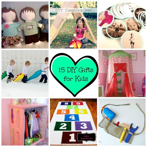Diy Gifts For Toddlers - 15 great diy gifts