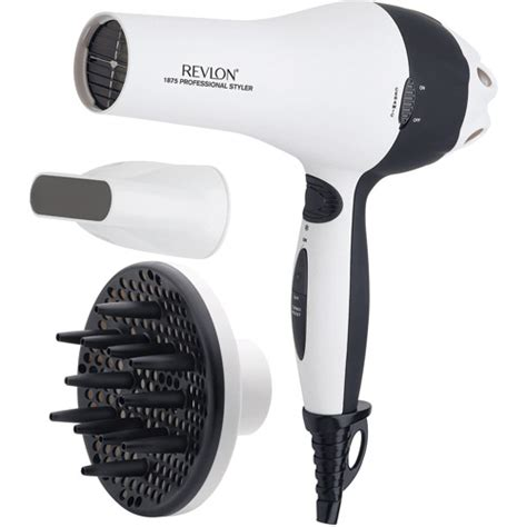 Revlon Hair Dryer Tourmaline Ionic Ceramic revlon 1875w professional ceramic styling dryer walmart
