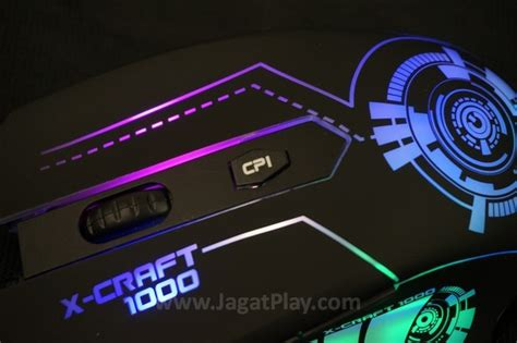 Powerlogic X Craft 2000 review powerlogic x craft series mouse gaming murah