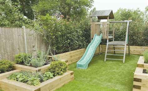 child friendly garden design structures  garden furniture