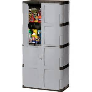 Rubbermaid Plastic Storage Cabinets With Doors Rubbermaid Fg708300michr 72 Quot Mica And Charcoal