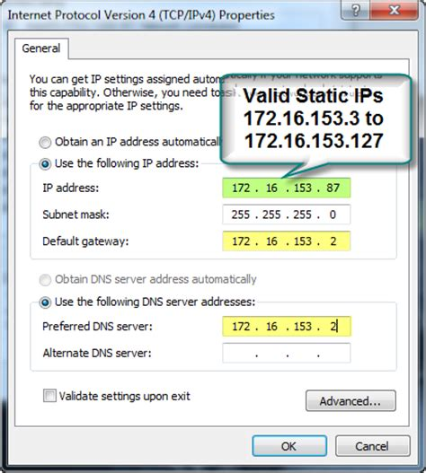 how to configure a static ip address in red hat centos set windows 7 static ip address techtips