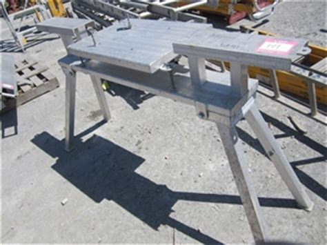 drop saw bench tommy tucker aluminium folding drop saw auction 0121