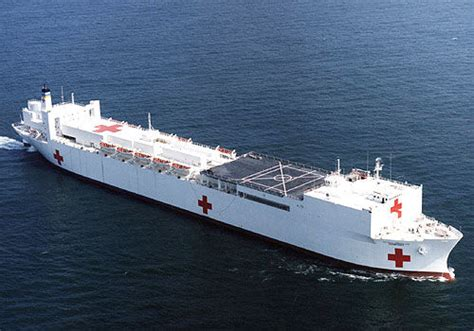 hospital ship comfort hospital ship comfort stops in norfolk prior to mission