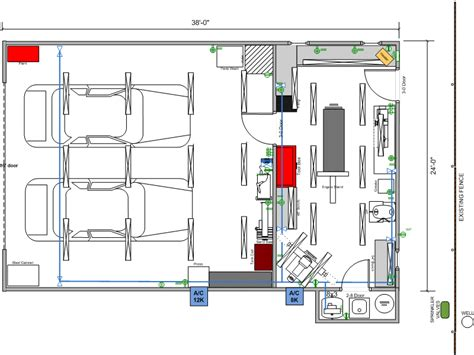 garage workshop layout plans falcon next shop build thread garage journal board