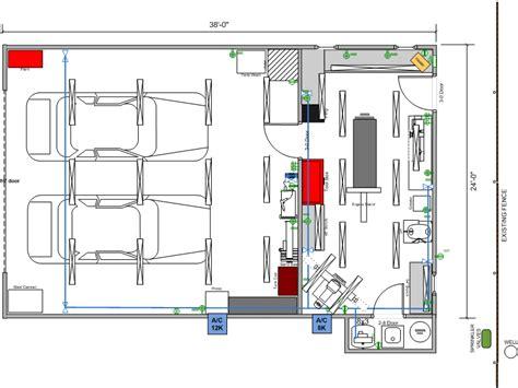 workshop lighting layout design falcon next shop build thread garage journal board