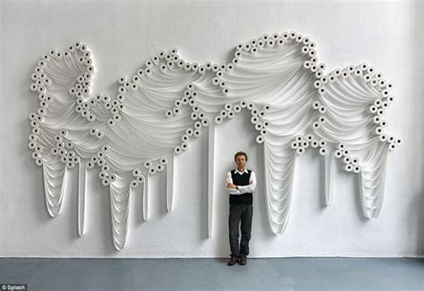 Toilet Paper Artists by A Very Loo Py Artwork The Arts Installations Created