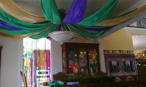 New Orleans Decorating Ideas Party Mardi Gras Style