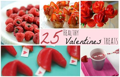 valentines snacks 25 healthy treats